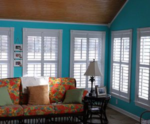 custom interior shutter design and installation