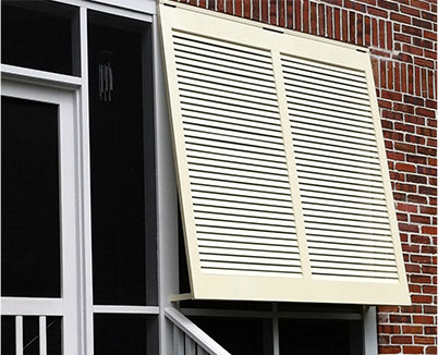 custom exterior shutter design and installation
